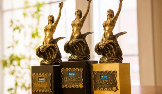 Coral Starway 2010,2011,2012 Tourism Awards — Виста Челябинск